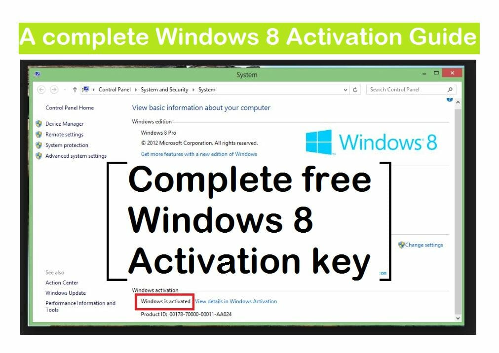 windows 8 iso key