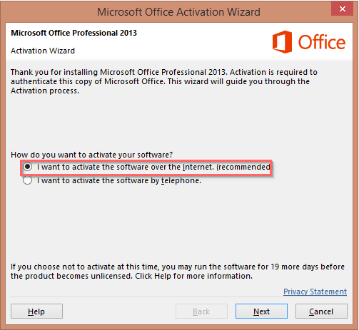 microsoft excel activation key 2013
