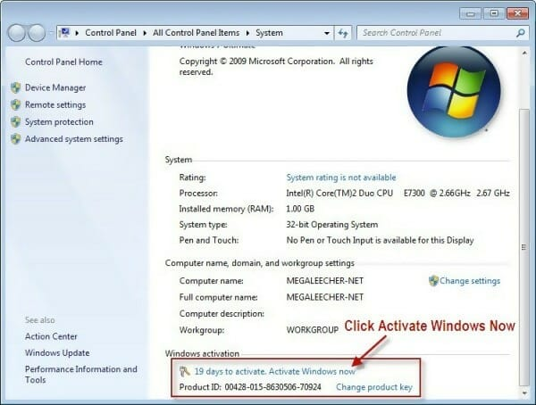 Windows 7 Professional Product Key and Activation Guide