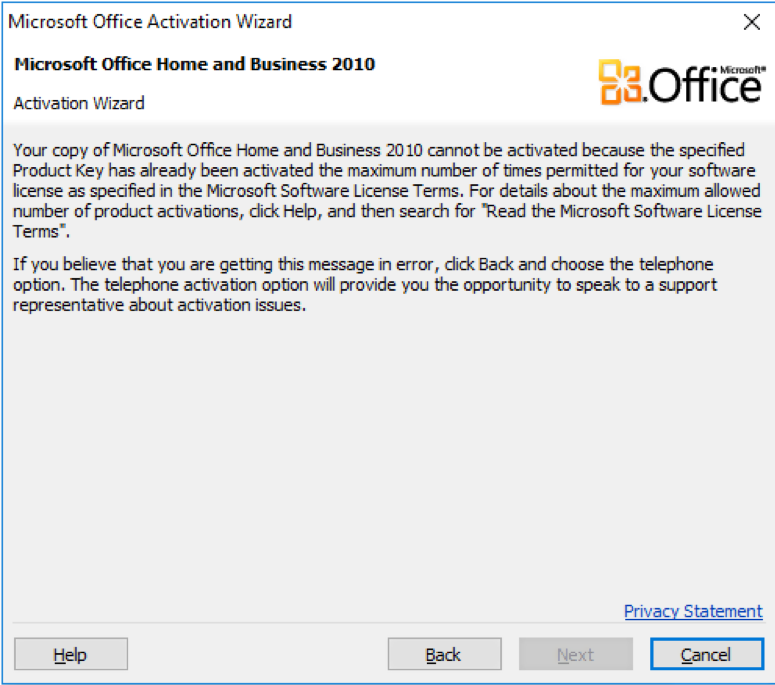ms office 2010 product key windows 10