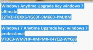 free windows 7 ultimate serial key that will completely activate your copy of windows 7 ultimate, these are the completely working windows 7 serial keys