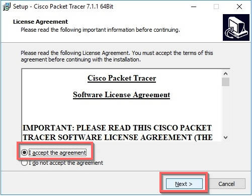 cisco packet tracer license