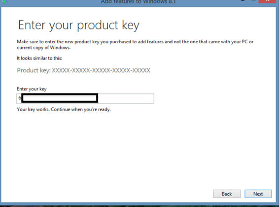 windows 8.1 professional product key 64 bit