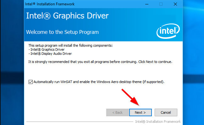 installing graphic drivers