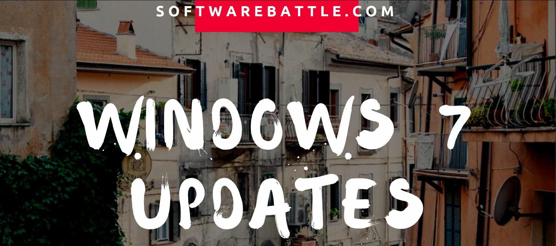 windows 7 update software