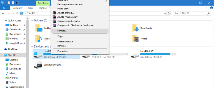 move os to ssd drive