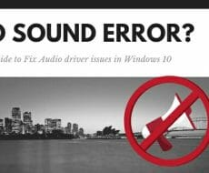 no sound windows 10