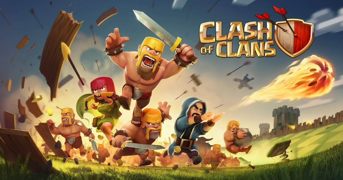 download clash of clans using bluctacks
