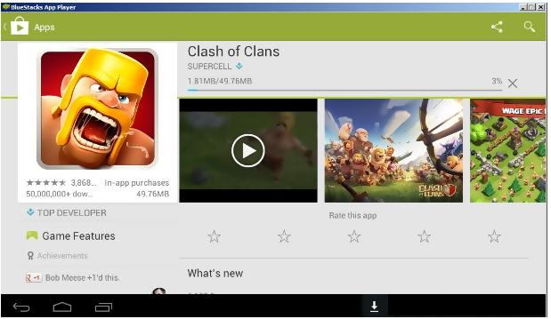 clash of clash installation