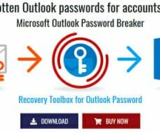 crack forgotten microsoft outlook password